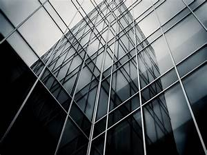Black and white glass architecture wallpaper the myth of