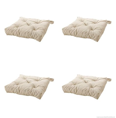 ikea s malinda chair cushion light beige 4