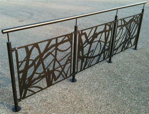 garde corps ruban d 233 coup 233 au laser pour une protection originale www escaliers echelle