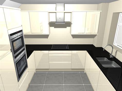U Shape Kitchen   Independent Kitchen Designer