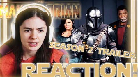 The Mandalorian Season 2 Official Trailer Reaction! || # ...