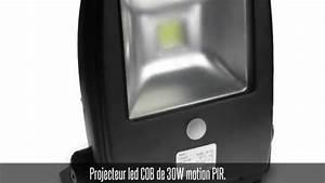 Projecteur Exterieur Avec Detecteur De Mouvement : projecteur led avec d tecteur de mouvement et ~ Edinachiropracticcenter.com Idées de Décoration