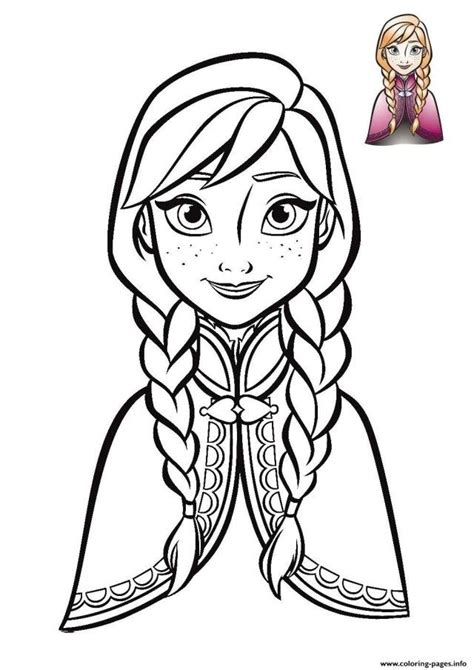elegant photo  anna coloring pages disney princess coloring pages elsa coloring pages