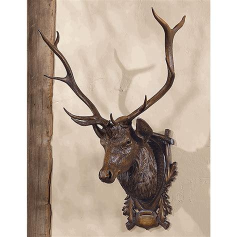 black forest elk wall mount