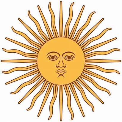 Inti Wikipedia Sol Argentina Bandera Mayo Svg