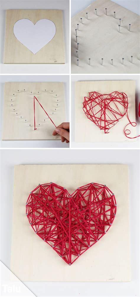 basteln mit wolle  tolle ideen mit anleitung string