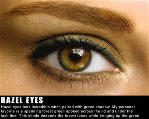 meekzbeautyparadise color wheel theory  hazel eyes
