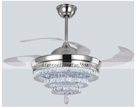 hidden cameras in ceiling fans crystal shade four hidden blades led ceiling light fan