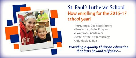 st paul s evangelical lutheran church school preschool 135   bannerSchoolEnrollment