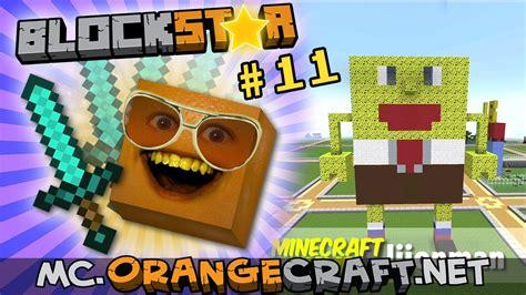 annoying orange blockstars  spongebob squarepants