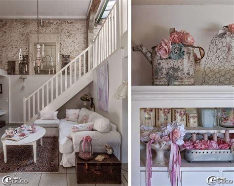 deco shabby charme la d coration d 39 une salon shabby chic maison en provence decoration de