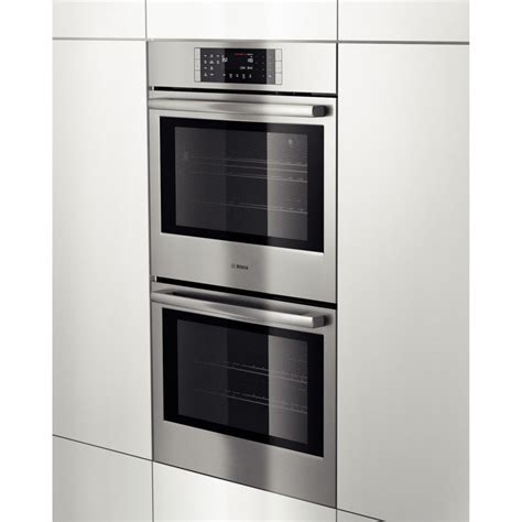 """Bosch HBL8651UC 800 Series 30"""" Double Wall Oven"""