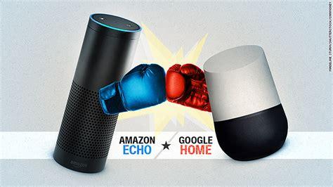 Google Home Vs Echo Battle Of The Smart Speakers Google Home Vs Echo