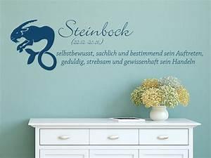 Passt Steinbock Zu Stier : wandtattoo sternzeichen steinbock wandtattoo de ~ Markanthonyermac.com Haus und Dekorationen