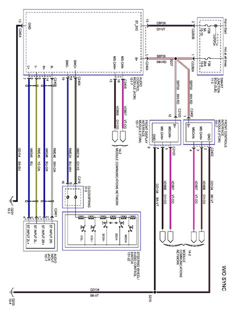 2008 Expedition Radio Wiring Diagram by 2008 Ford Headlight Wiring Wiring Diagrams