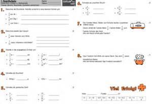 brüche 6 klasse extemporalen stegreifaufgaben realschule klasse 6 mathematik catlux