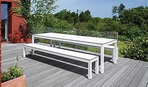 Table Banc Exterieur : ensemble de jardin table bancs haut de gamme leuven ~ Teatrodelosmanantiales.com Idées de Décoration