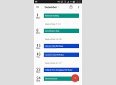 Google Releases Calendar 50 for Android with Material