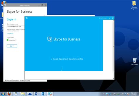 t駘馗harger skype bureau windows 8 skype for business