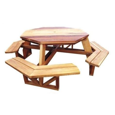 woodcraft octagon picnic table downloadable plan