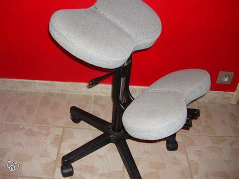 chaise bureau dos chaise de bureau à genoux dos droit réglable occasion