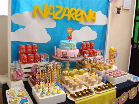 foto de The Simpsons Birthday Party Ideas Photo 6 of 17 Catch
