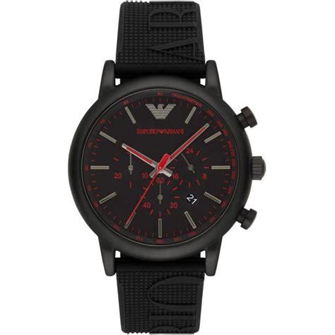montre armani ar11024 montre chronographe silicone homme sur bijourama montre homme