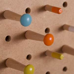 Pegboard, With, Wooden, Pegs, Medium, By, Block