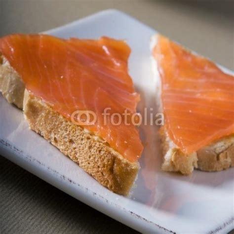 canapé saumon fumé photos canapé au saumon