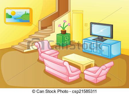 Room Drawing Clipart by Living Room Clipart Clipground