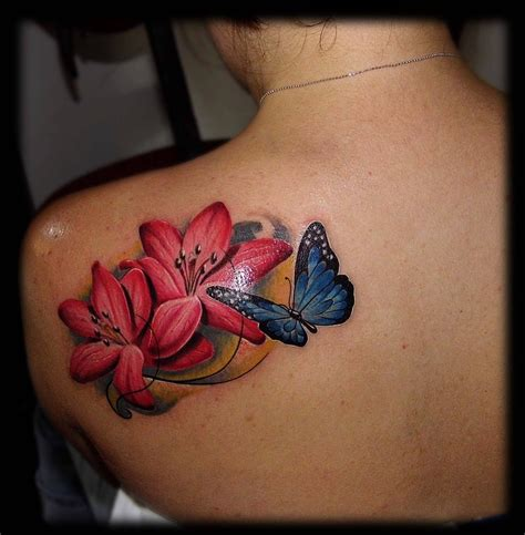 flower tattoos page
