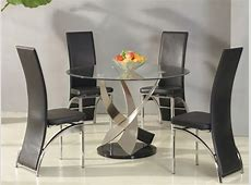 Glass dining table decorating ideas, modern glass tables