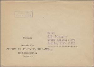 Deutsche Post Berlin öffnungszeiten : postsache deutsche post zentrales postverkehrsamt ddr 1085 berlin in die usa philmaster ~ Orissabook.com Haus und Dekorationen