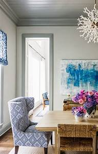In love with the contrast of trim and wall color Trim is