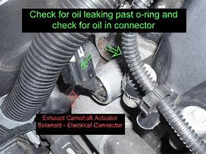 How To  Replace Exhaust Camshaft Actuator Solenoid