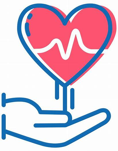 Icon Care Mission Clipart Health Medical Prevention