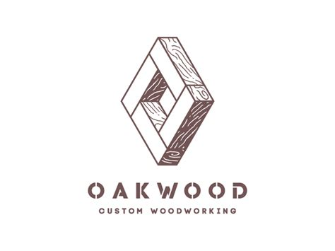 oakwood custom woodworking logo  andrea ceolato