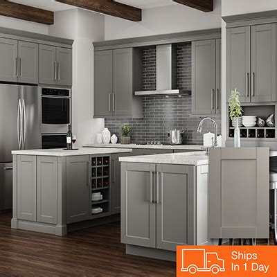 grey maple kitchen cabinets kitchen cabinets color gallery at the home depot 4083