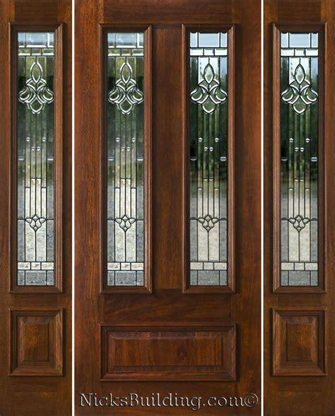 entry door with sidelights exterior doors with sidelights solid mahogany entry doors