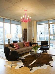 Cowhide rug home design ideas pictures remodel and decor for Cowhide rug living room