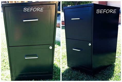 how to dress up a metal file cabinet metal file cabinet makeover diy inspired