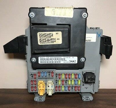 Fuse Box 04 Jeep Liberty by 05 Jeep Liberty Bcm Module Fuse Box Junction