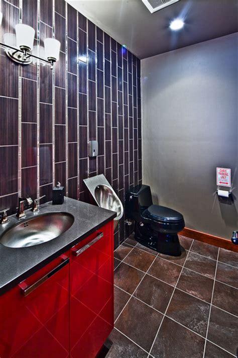 Man Cave  Dream Garage  Contemporary Bathroom