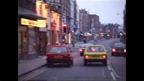 WORKSOP A Drive through the town centre in 1984 - YouTube