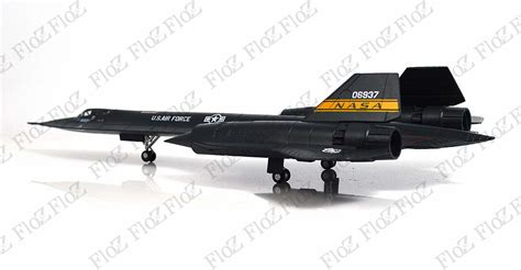 Lockheed YF-12 NASA test led to SR-71 Blackbird diecast 1 ...