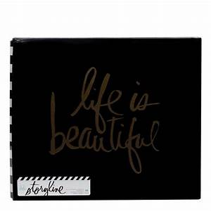STORYLINE 12×12 ALBUM LIFE IS BEAUTIFUL - Scrapping Clearly