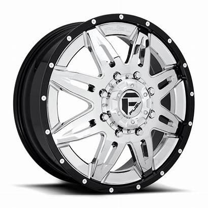 Dually Lethal Wheels Lug Chrome Fuel D267