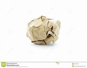 Boule En Papier : boule de papier photo stock image du simple document 33451192 ~ Teatrodelosmanantiales.com Idées de Décoration