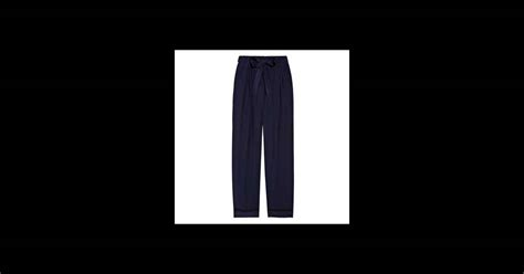 pantalon yves laurent un pantalon d homme qui allonge sa silhouette prix 990 en