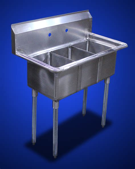 3 compartment kitchen sink new commercial 34 x 20 kitchen stainless steel 3 three